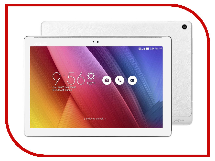 Планшет ASUS ZenPad Z300CNL-6B035A 90NP01T5-M02800 Intel Atom Z3560 1.83 Ghz/2048Mb/16Gb/GPS/LTE/3G/Wi-Fi/Bluetooth/Cam/10.1/1280x800/Android<br>
