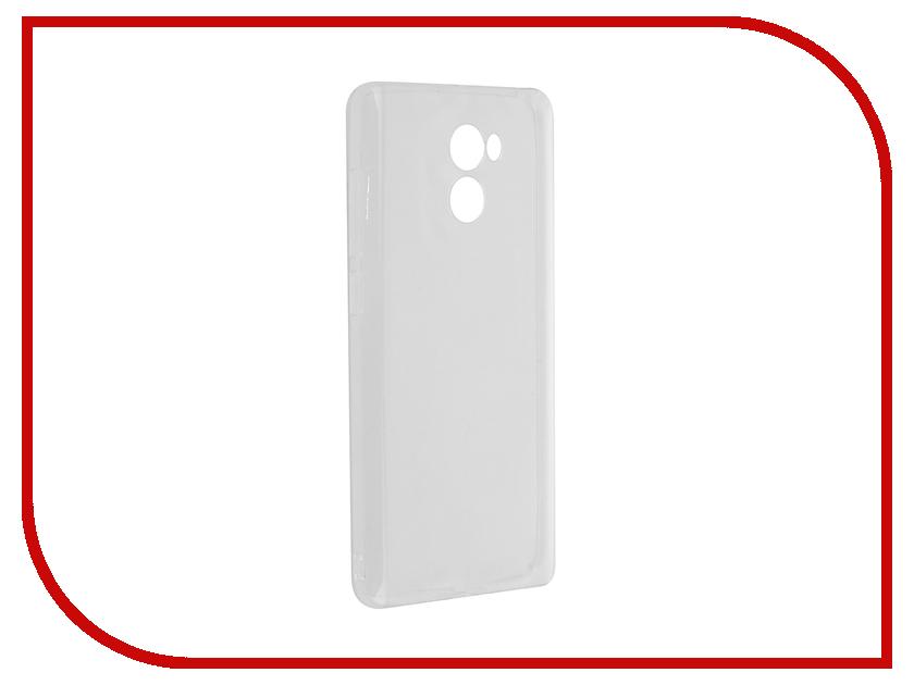 Аксессуар Чехол Xiaomi Redmi 4 Zibelino Ultra Thin Case White ZUTC-XMI-RDM-4-WHT