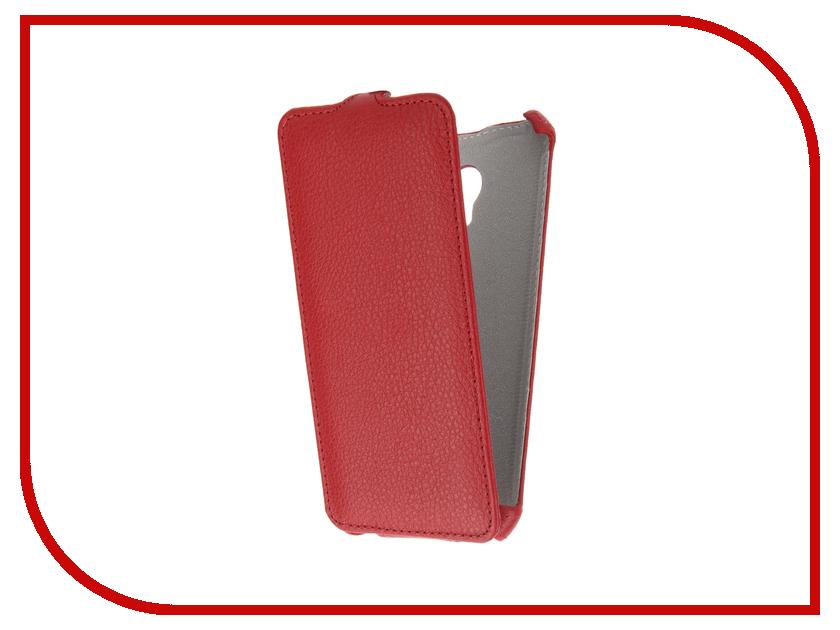 Аксессуар Чехол Meizu M5 Zibelino Classico Red ZCL-MZ-M5-RED аксессуар чехол meizu u10 zibelino classico black zcl mz u10 blk