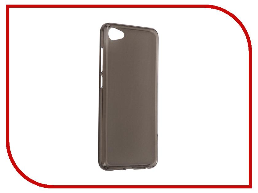 Аксессуар Чехол Meizu U10 Apres Protective Case Transparent-Gray аксессуар защитное стекло meizu u10 borasco 0 2mm