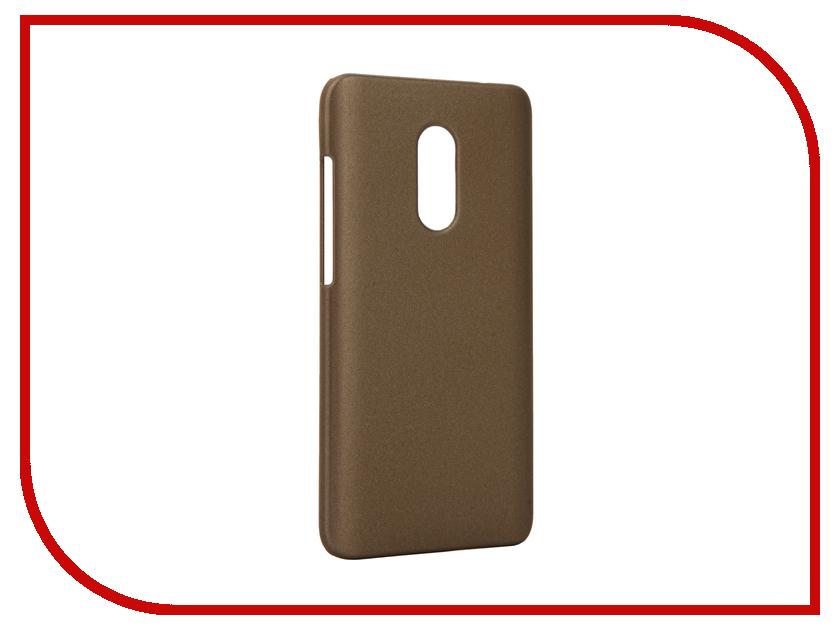 Аксессуар Чехол Xiaomi Redmi Note 4 Apres Hard Protective Back Case Cover Gold<br>