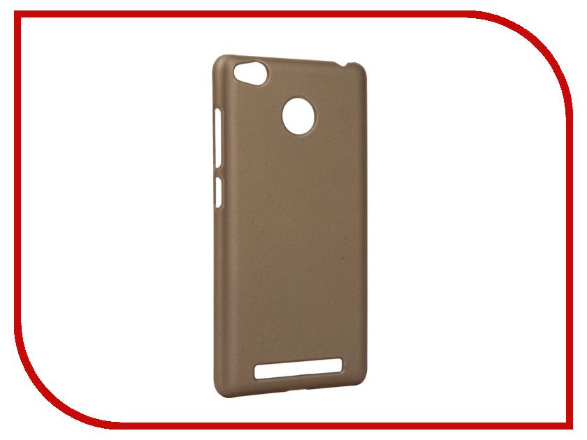 Аксессуар Чехол Xiaomi Redmi 3S Apres Hard Protective Back Case Cover Gold<br>