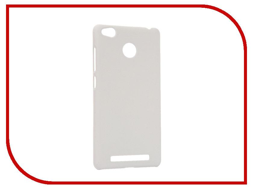 цена на Аксессуар Чехол Xiaomi Redmi 3S Apres Hard Protective Back Case Cover White