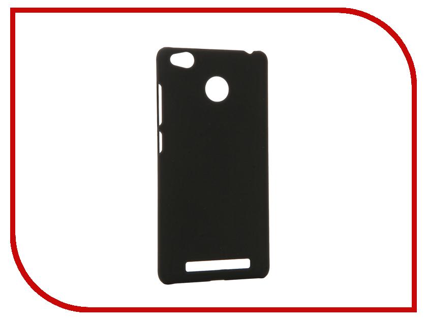 Аксессуар Чехол Xiaomi Redmi 3S Apres Hard Protective Back Case Cover Black<br>