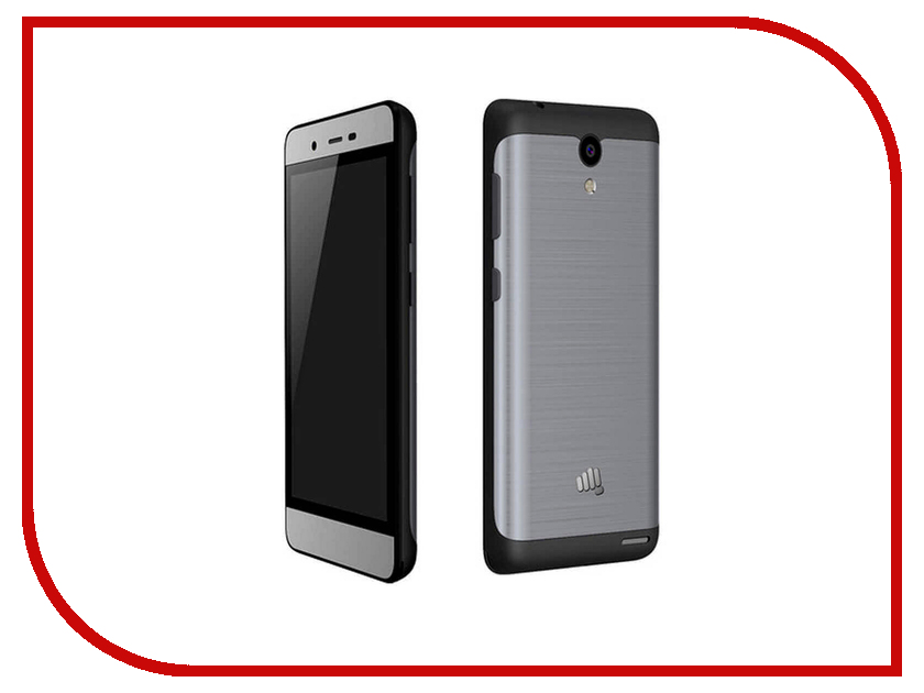 Сотовый телефон Micromax Q4202 Bolt Warrior 2 Black-Grey micromax bolt d306 black