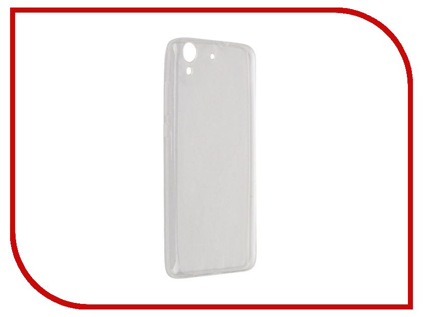 Аксессуар Чехол Huawei Y6ii / 5A Zibelino Ultra Thin Case White ZUTC-HUA-Y6ii-WHT смартфон huawei y6ii 4g 16gb white