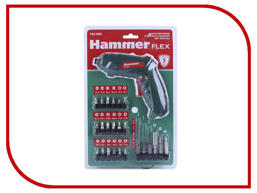 Отвертка Hammer Flex ACD3.6LE hammer udd500le