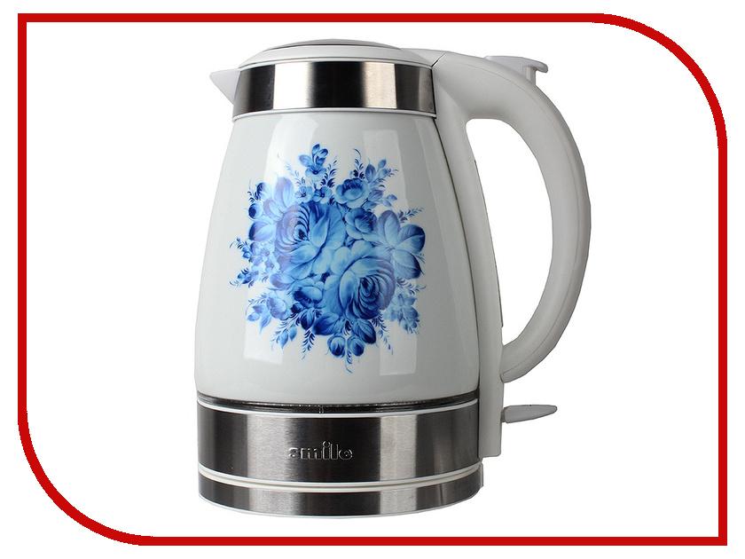 Чайник Smile WK5127 Blue flower чайник smile wk 5414