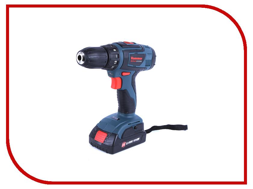 Электроинструмент Hammer ACD185Li 2.0 электроинструмент hammer udd650b