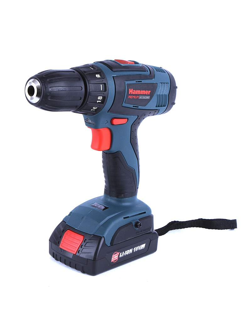 Электроинструмент Hammer ACD185Li 2.0