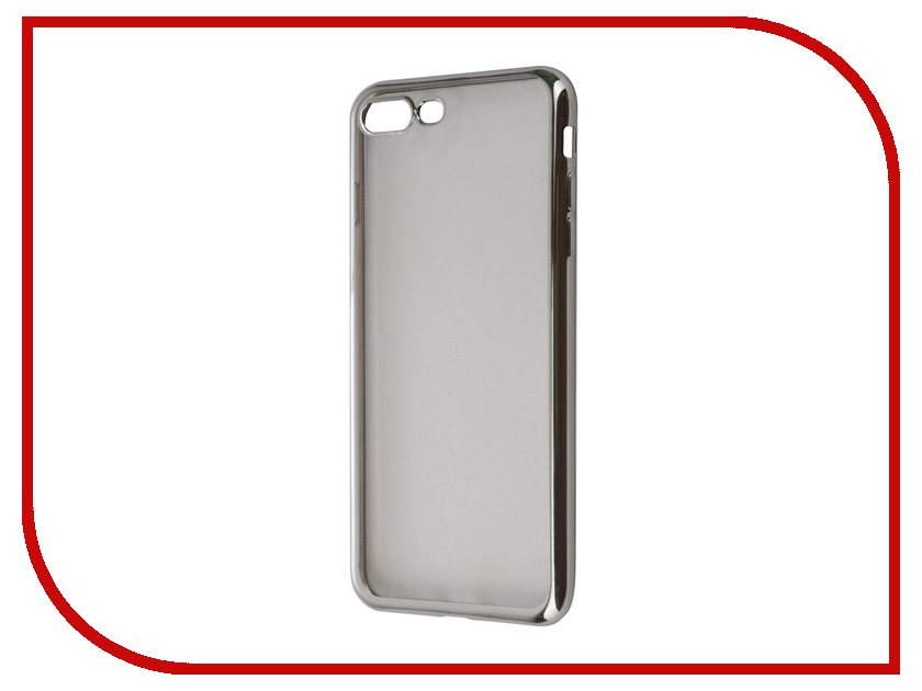 Аксессуар Чехол InterStep IS Frame для APPLE iPhone 7 Plus Silver HFR-APIPH7PK-NP1117O-K100<br>