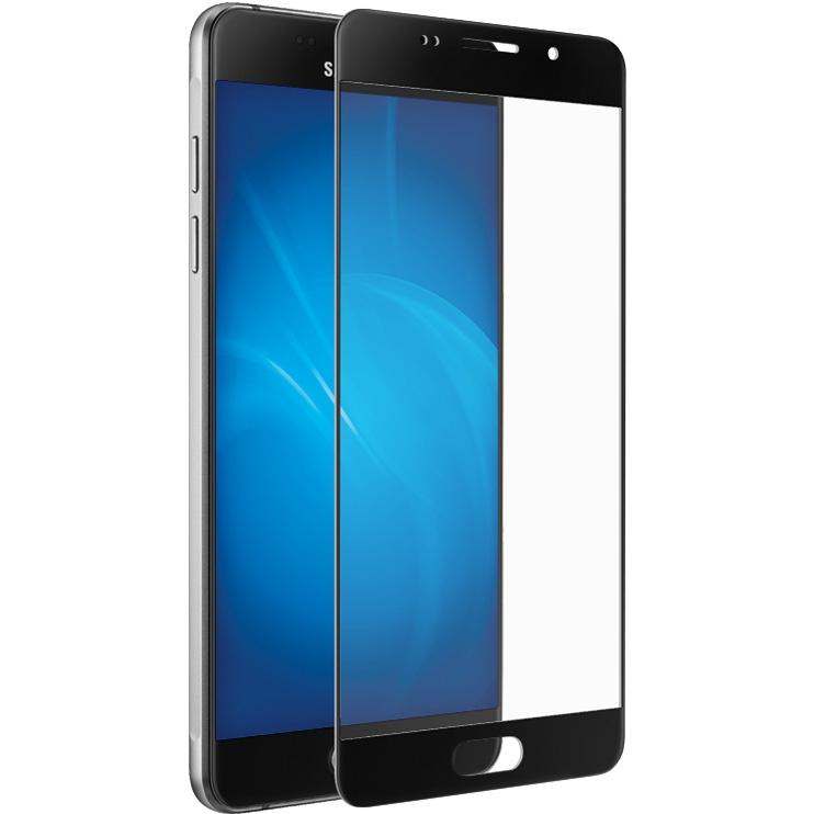 Аксессуар Защитное стекло для Samsung Galaxy A7 2016 SM-A710F Solomon Full Cover Black samsung clearcover чехол для galaxy a7 sm a710f silver