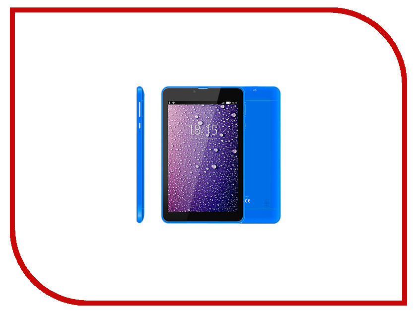 Планшет BQ BQ-7021G Hit Blue (Spreadtrum SC7731 1.3 GHz/512Mb/8Gb/3G/GPS/Wi-Fi/Cam/7.0/1280x800/Android)