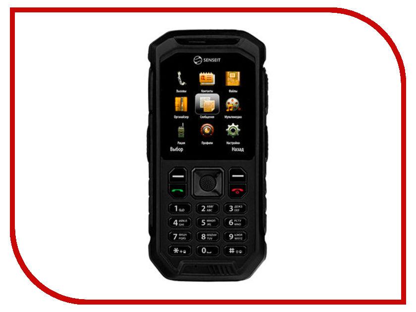 Сотовый телефон Senseit P300 Black