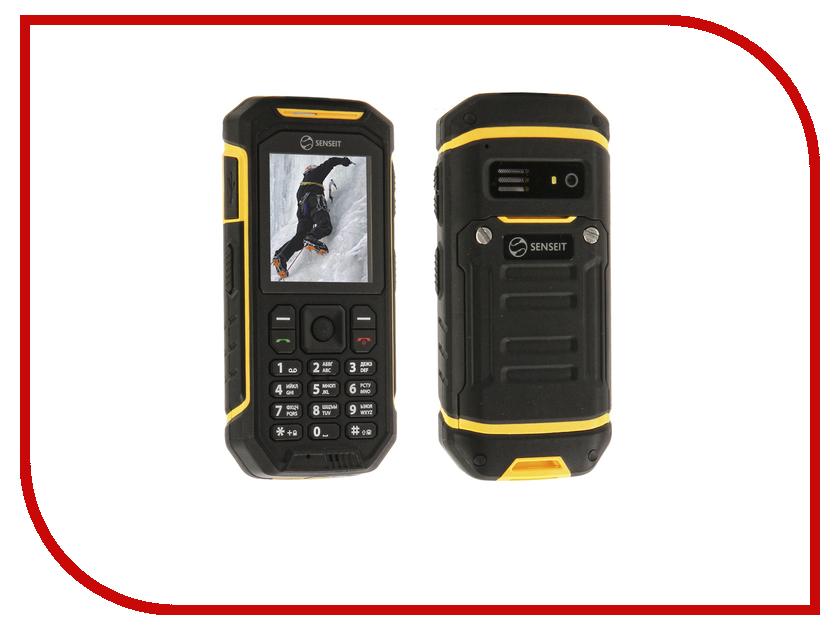 Сотовый телефон SENSEIT P300 Yellow умная розетка senseit gs2s ведомая