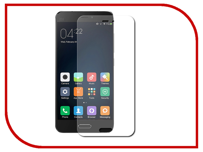 Аксессуар Защитное стекло Xiaomi Mi5s Plus Zibelino TG 0.33mm 2.5D ZTG-XIA-MI5S-PLS
