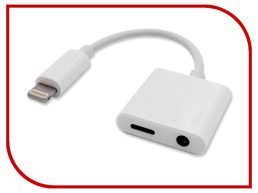 Аксессуар Merlin Lightning charger and audio Jack Adaptor for iPhoneand iPad