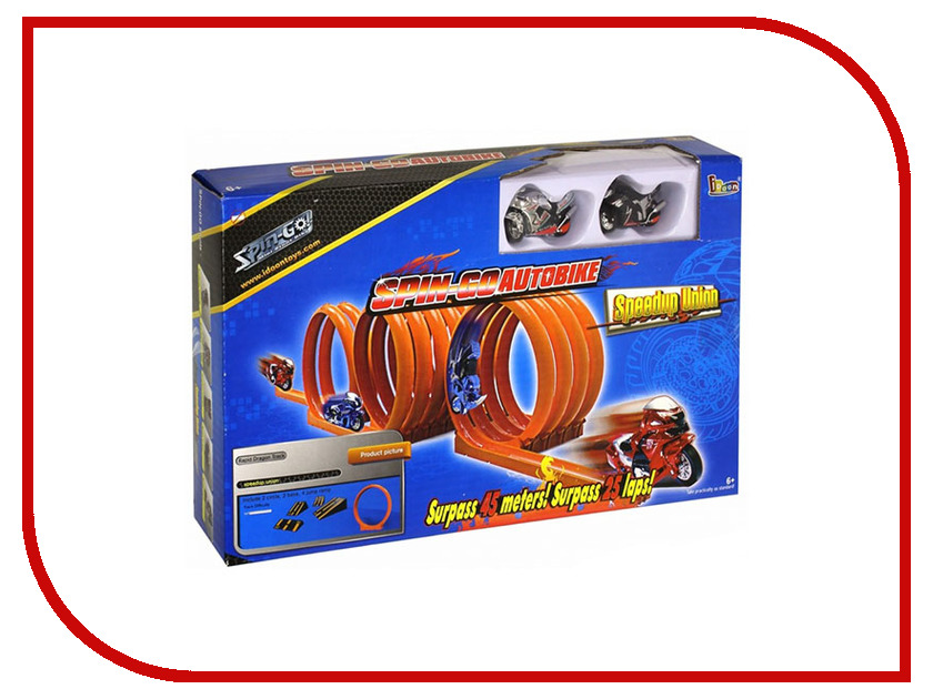 Игрушка Город игр Spin-Go Крутой Байк Полигон 60105<br>