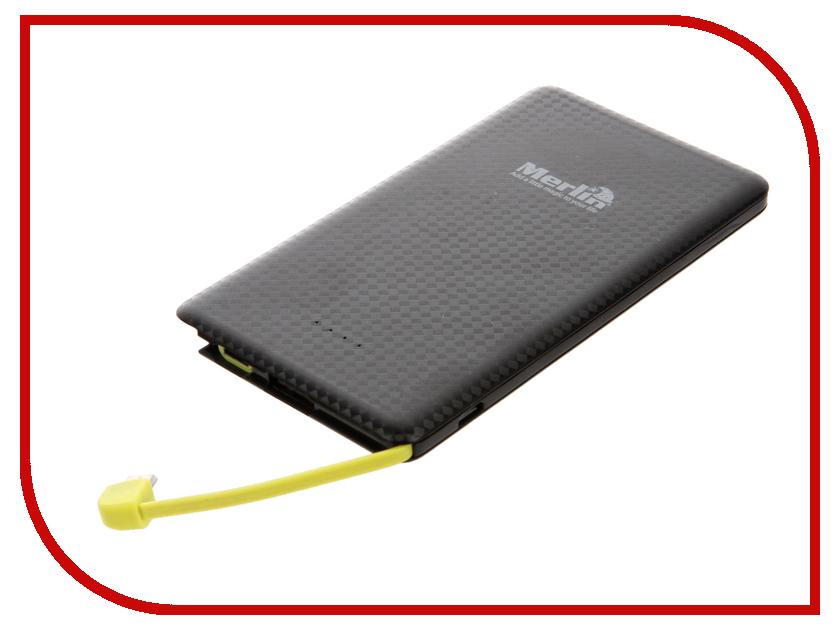 Аккумулятор Merlin Flash Powerbank 5000 mAh with Lightning and Micro USB