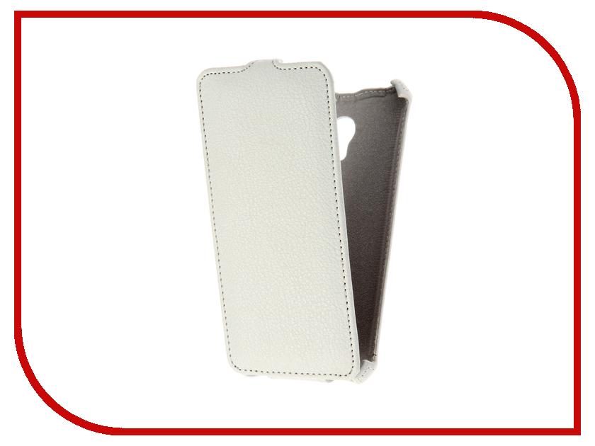 Аксессуар Чехол Meizu M5 Gecko White GG-F-MEIM5-WH аксессуар чехол накладка sony xperia m5 m5 dual cherry white 8316