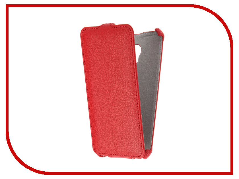 Аксессуар Чехол Meizu M5 Gecko Red GG-F-MEIM5-RED