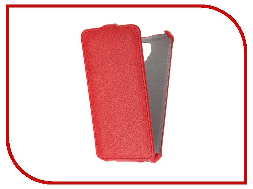 Аксессуар Чехол Tele2 Maxi 1.1 Gecko Red GG-F-TELE2MIXI-RED<br>