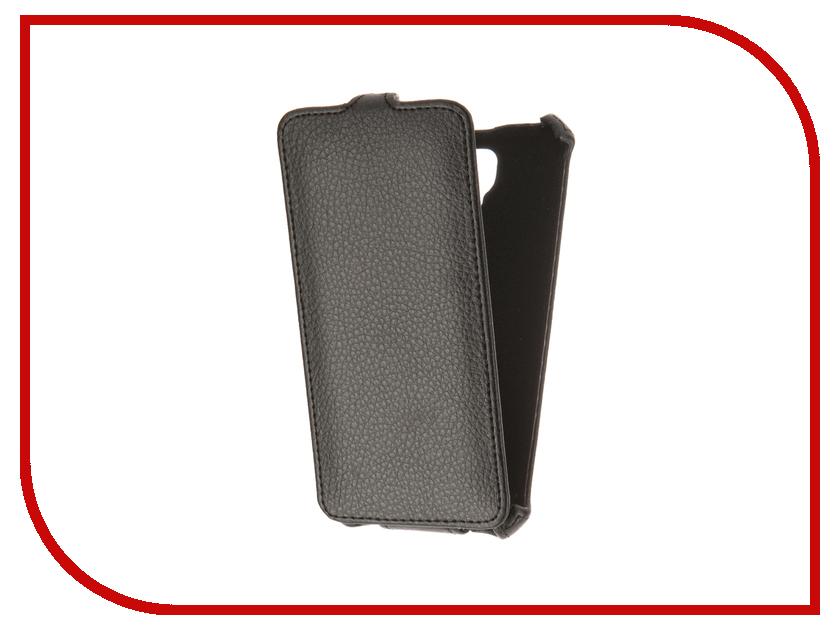Аксессуар Чехол Tele2 Maxi 1.1 Gecko Black GG-F-TELE2MIXI-BL<br>