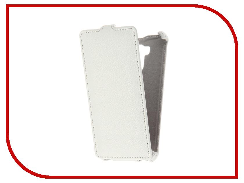 Аксессуар Чехол Xiaomi Redmi 4/4 Pro Gecko White GG-F-XMR4PR-WH аксессуар чехол xiaomi redmi pro gecko transparent glossy white s g xirmpro wh