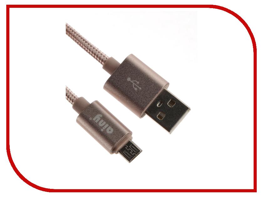 Аксессуар Ainy Micro USB FA-064S Pink<br>