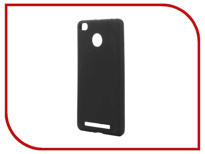 Аксессуар Чехол Xiaomi Redmi 3 / 3S / 3 PRO Zibelino Soft Matte ZSM-XIA-RDM-3S аксессуар чехол xiaomi redmi pro zibelino classico black zcl xia pro blk