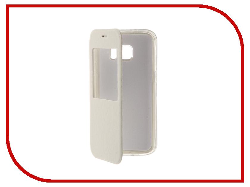 Аксессуар Чехол Samsung Galaxy S7 Cojess Book Case Time White аксессуар чехол samsung galaxy a3 2016 cojess book case time black с окном
