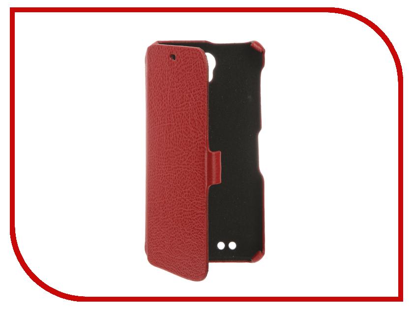 Аксессуар Чехол BQ BQS-5515 Wide Cojess Ultra Slim Book Экокожа флотер Red