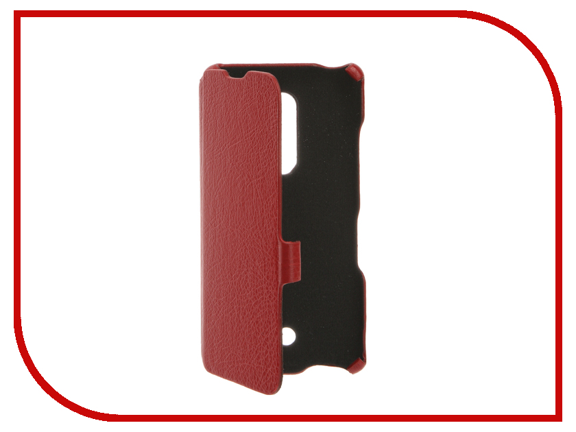 Аксессуар Чехол BQ BQS-5050 Strike Selfie Cojess Ultra Slim Book Экокожа флотер Red bq mobile bq bqs 5050 strike selfie розовый