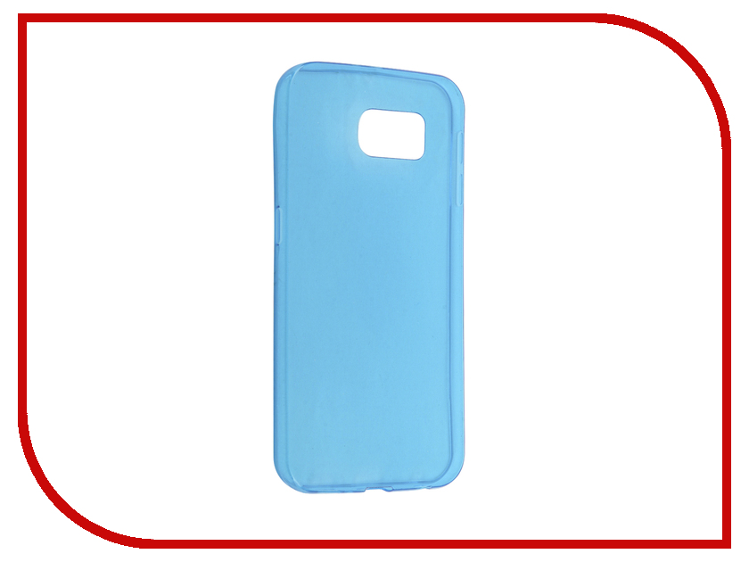 Аксессуар Чехол Samsung Galaxy S7 Plus Cojess Silicone TPU 0.3mm Blue глянцевый аксессуар чехол samsung galaxy a3 2017 cojess tpu 0 5mm transparent