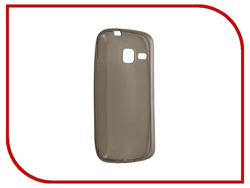 Аксессуар Чехол Samsung Galaxy J1 mini / J1 mini (2016) Cojess Silicone TPU 0.3mm Grey глянцевый аксессуар чехол samsung galaxy a3 2017 cojess tpu 0 3mm transparent