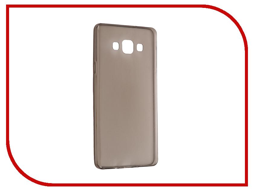 Аксессуар Чехол Samsung Galaxy A7 Duos/A700FD/A700F Cojess Silicone TPU 0.3mm Grey глянцевый<br>