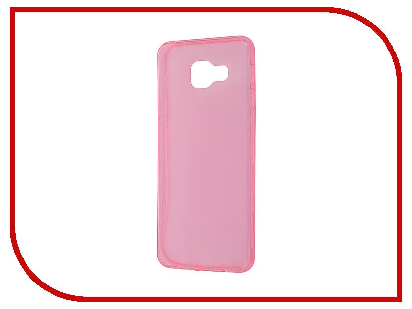 Аксессуар Чехол Samsung Galaxy A3 Cojess Silicone TPU 0.3mm Pink глянцевый аксессуар чехол samsung s8 plus cojess book case a black с визитницей
