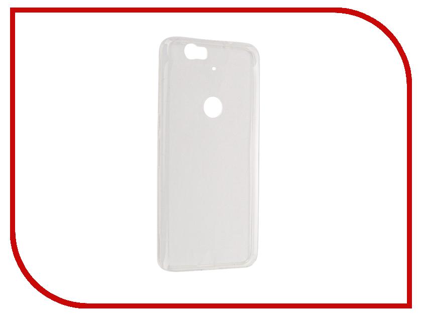 Аксессуар Чехол Huawei Nexus 6P Cojess Silicone TPU 0.3mm Transparent глянцевый<br>