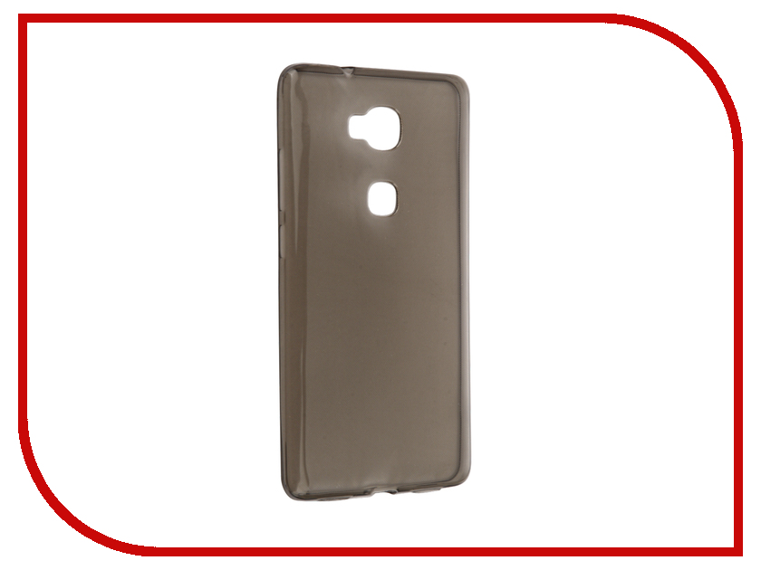 Аксессуар Чехол Huawei Honor 5X / Mate 7 Mini Cojess Silicone TPU 0.3mm Grey глянцевый