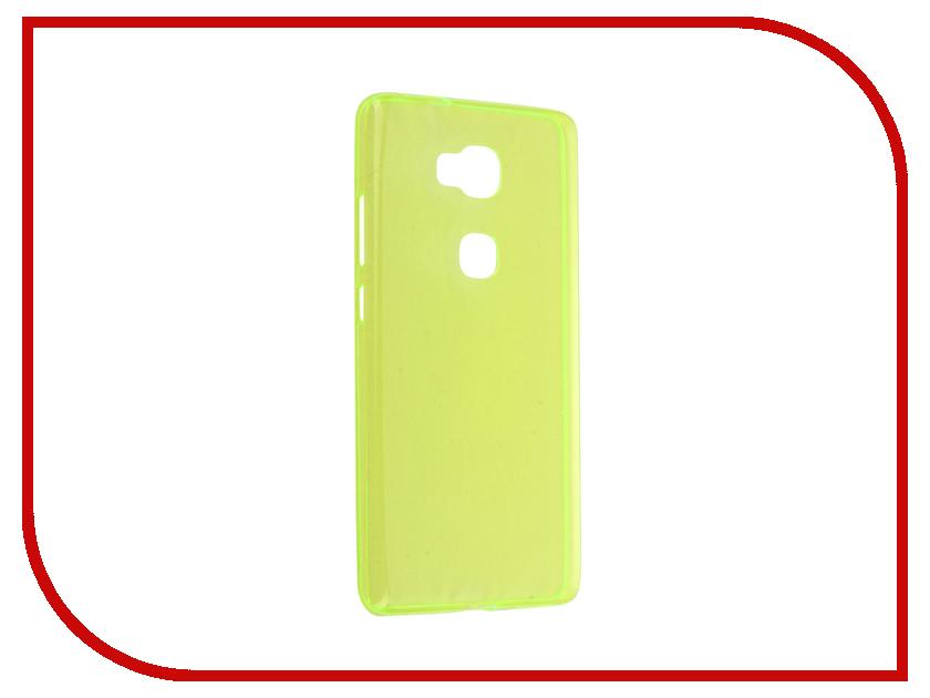Аксессуар Чехол Huawei Honor 5X / Mate 7 Mini Cojess Silicone TPU 0.3mm Green глянцевый<br>