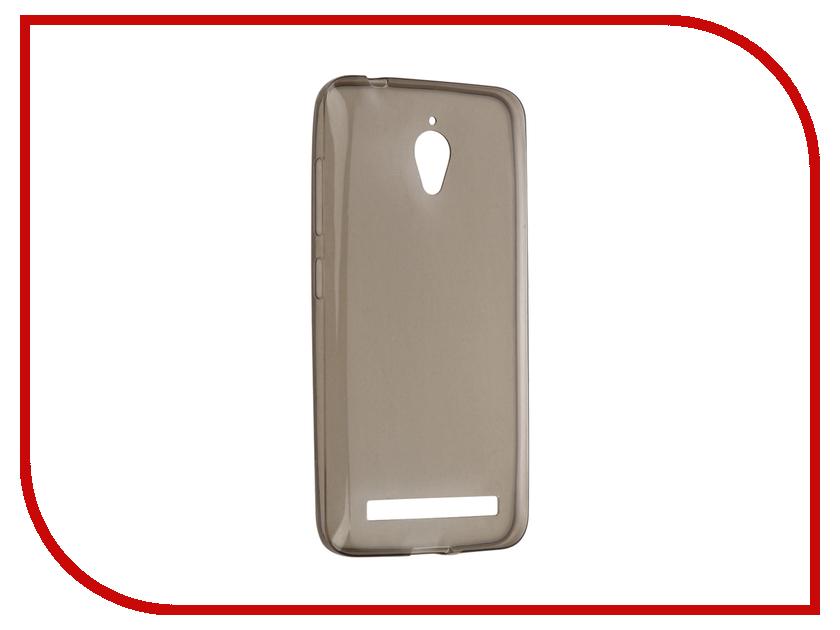 все цены на Аксессуар Чехол ASUS ZenFone Go ZC500TG Cojess Silicone TPU 0.3mm Grey глянцевый онлайн