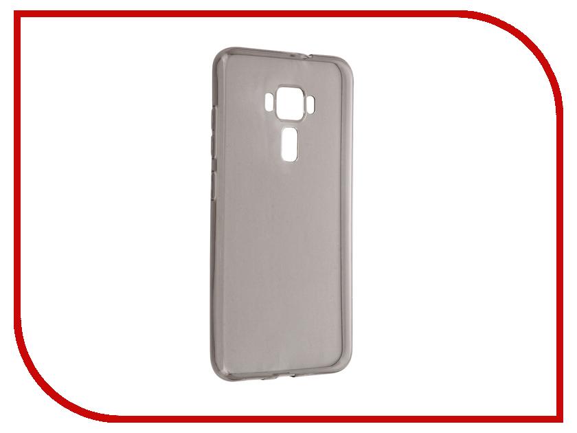 Аксессуар Чехол ASUS ZenFone 3 ZE552KL Cojess Silicone TPU 0.3mm Grey глянцевый<br>
