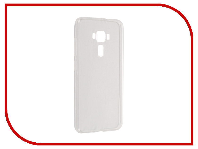 Аксессуар Чехол ASUS ZenFone 3 ZE552KL Cojess Silicone TPU 0.3mm Transparent глянцевый<br>