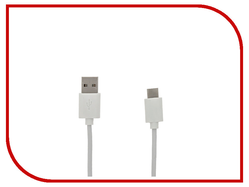 Аксессуар Cojess USB Type C 1m White<br>