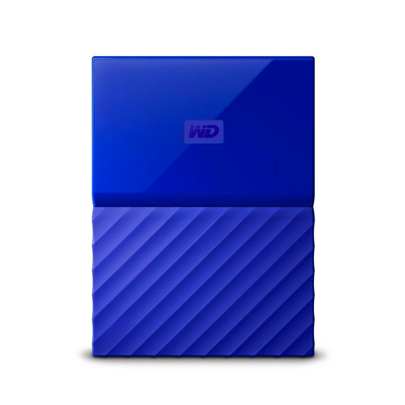 Жесткий диск Western Digital My Passport 4Tb Blue WDBUAX0040BBL-EEUE