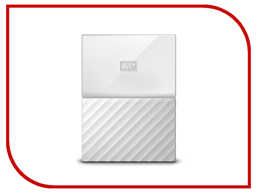 Жесткий диск Western Digital My Passport 2Tb White WDBUAX0020BWT-EEUE электроника и фото