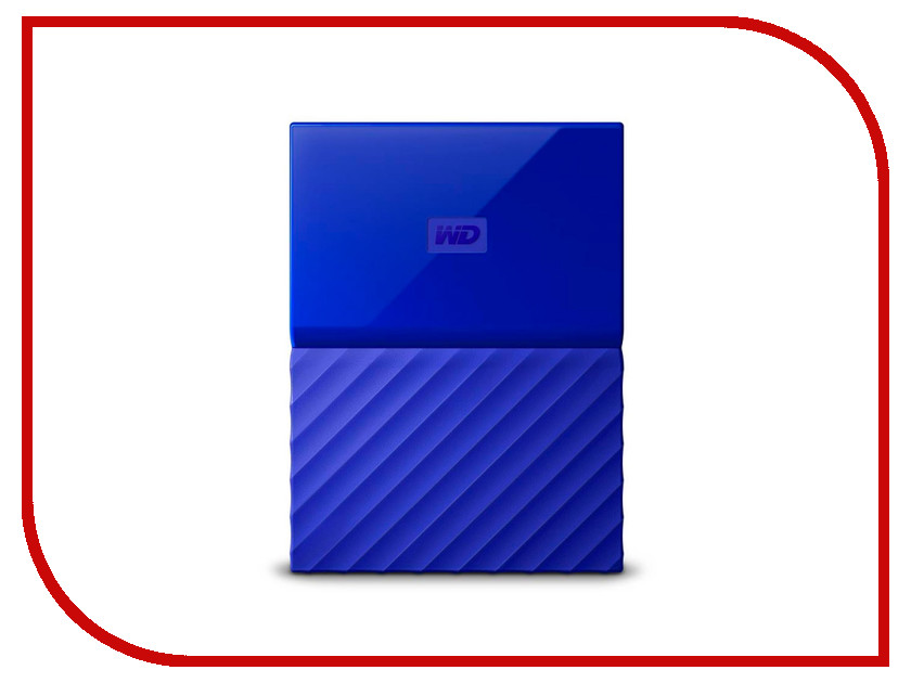 Жесткий диск Western Digital My Passport 2Tb Blue WDBUAX0020BBL-EEUE