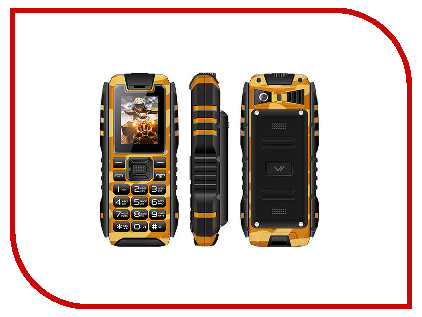 Сотовый телефон Vertex K202 Khaki Brown аветисян н игнатов к английский язык для делового общения тесты test your business english учебное пособие второе издание дополненное page 2