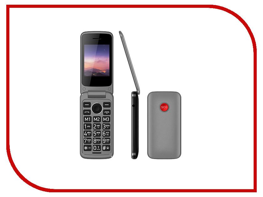 Сотовый телефон Vertex C308 Black сотовый телефон qumo push x7 black