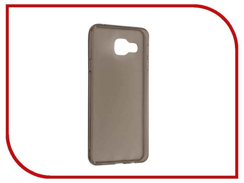 Аксессуар Чехол Samsung Galaxy A3 (2016) Cojess Silicone TPU 0.3mm Grey глянцевый<br>